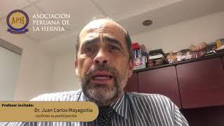 Dr. Juan Carlos Mayagoitia participará en II Congreso de la Hernia