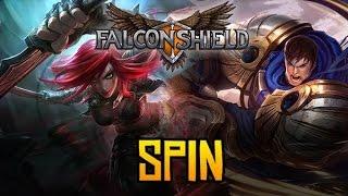 Falconshield - Spin! feat. Nicki Taylor (Original League of Legends song - Garen & Katarina)