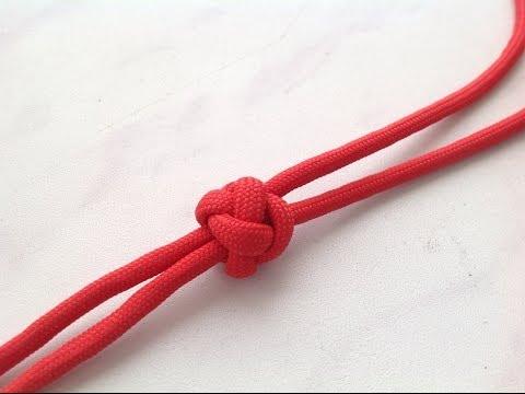 Бриллиантовый узел кельтская кнопка шариком на паракорде Очень просто diamond knot simple