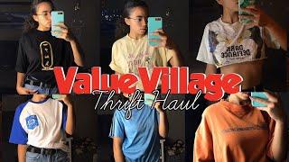 $200 Thrift Haul 2019 ~ Value Village   Adidas, OVO, Reebok & more!