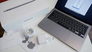 Apple MacBook Air 2020 Unboxing und erster Eindruck