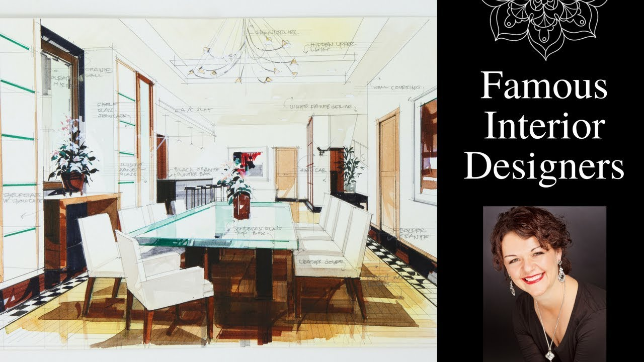 Famous Interior Designers: Design Your Own Home