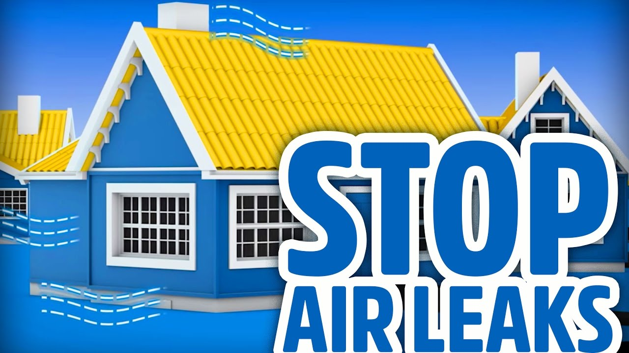 Poor Insulation Causing Air Leakage In Your Home Youtube