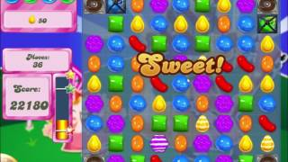 Candy Crush Saga Level 408 Collect all orders!