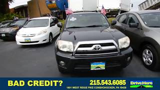 2006 TOYOTA 4RUNNER, 100% Application Review Policy