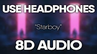 Gambar cover The Weeknd – Starboy (8D AUDIO) 🎧