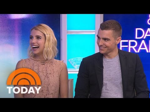 Emma Roberts, Dave Franco Reveal Most Embarrassing Scene In 'Nerve' | TODAY