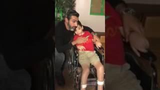 """بالفيديو - لفتة انسانية من ياسر جلال في """"ظل الرئيس"""""""