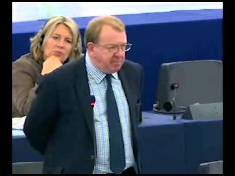 Struan STEVENSON -MEPs condemn Iraq's attack on Camp Ashraf -  European Parliament , Strasbourg