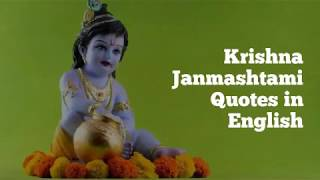 Krishna Janmashtami Quotes in English | Krishna Janmashtami 2019 - Wishesdb