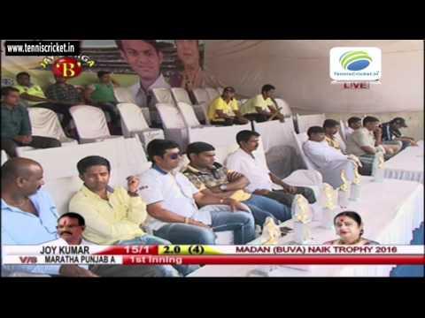 Maratha Punjab A vs Joy Kumar Sports   Madan Buva Naik Chashak 2016 Bhiwandi - Live