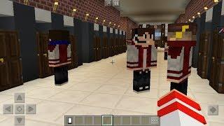 Minecraft PE : PRIMEIRO DIA DE AULA ! (Minecraft Pocket Edition)