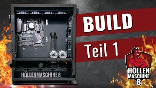 DAS MONSTER ENTSTEHT - Build Teil 1 - Höllenmaschine 8 | #Gaming-PC