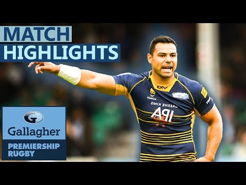 Worcester 31-29 Saracens | Warriors Win With Last Kick | Gallagher Premiership - Highlights