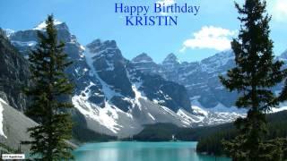 Kristin  Nature & Naturaleza - Happy Birthday
