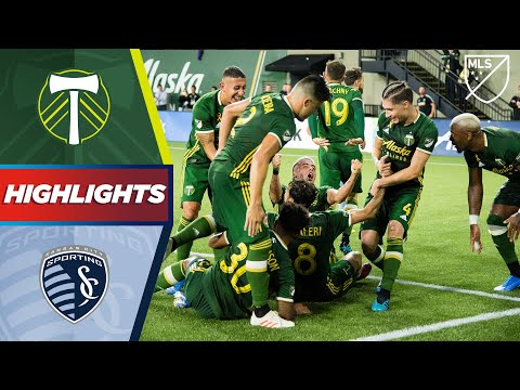 Portland Timbers Vs. Sporting Kansas City | A Game Winning Header! | HIGHLIGHTS