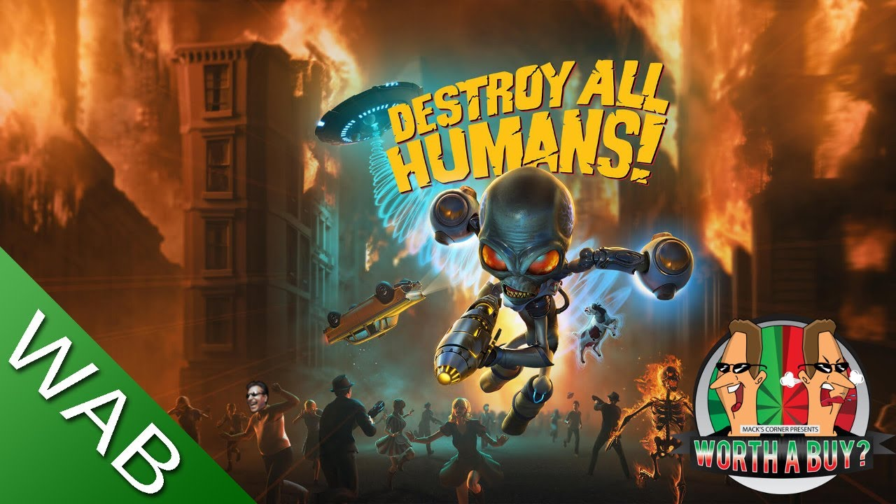 Destroy all Humans Review - (2020 remake) (Video Game Video Review)