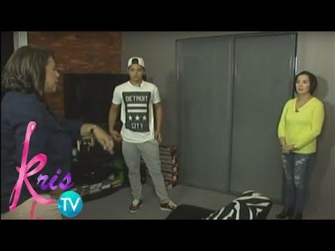 Kris TV: Pasilip sa kwarto ni Daniel Padilla