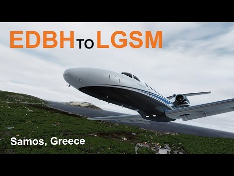 Prepar3D | Our Longest Europe Trip Yet! EDBH to LGSM | Carenado 525A Citation CJ2