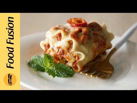 Lasagna Roll Ups Recipe By Food Fusion