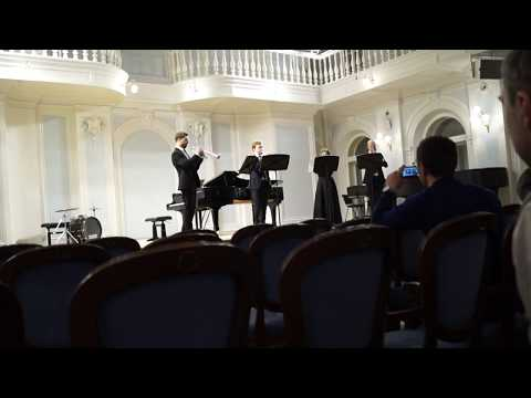 Вариации в стиле Фламенко, В. Василевский; квартет трубачей