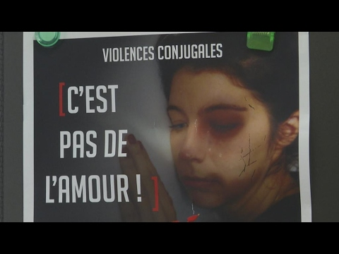 French hospital at forefront of fight against domestic violence