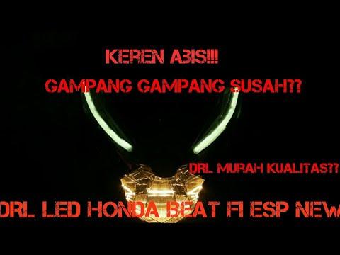 MUDAH!!! Tutorial cara memasang DRL LED di All new Honda BeAT Fi ESP || DRL di Honda Beat Fi-vlog#11