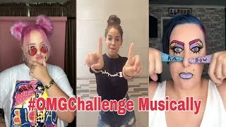 OMG Challenge Funny  Musically Compilation August 2018 | #omgchallenge | You Khub Entertainment