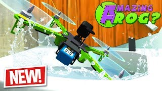 FLUSHING THE NEW DRONES DOWN THE MAGIC TOILET - Amazing Frog Part 172 | Pungence