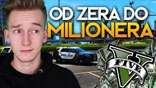"""GTA V """"OD ZERA DO MILIONERA"""" #19 - WSTĘPUJEMY DO POLICJI?"""