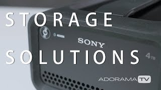 Sony Storage Solutions - 4TB RAID Hard Drive: The Breakdown with Miguel Quiles