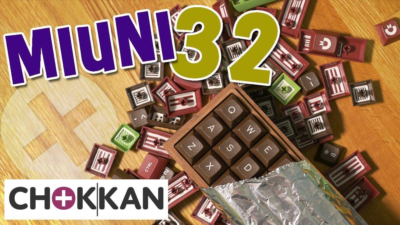 My Smallest Keyboard - Miuni 32 Build