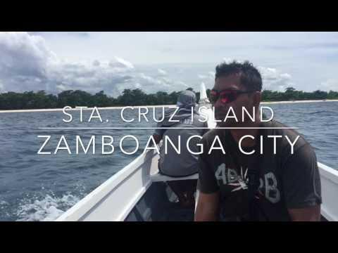 Pink Sand Beach in the Philippines: Santa Cruz Island Zamboanga City