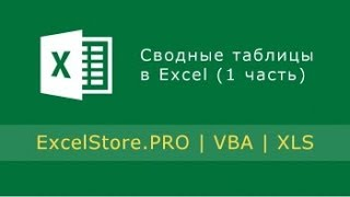 Урок 17: Сводные таблицы в Excel (1 часть)