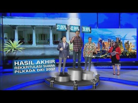 Hasil Rekapitulasi Pilkada DKI : AHY, Ahok & Anies - Immersive