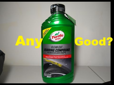 Integra GS-R Paint Restoration And Turtle Wax Rubbing Compound Review