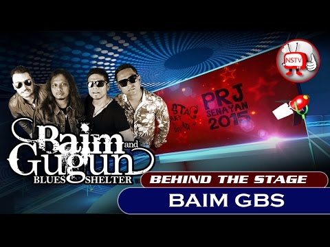 Baim And Gugun Blues Shelter -  Behind The Stage PRJ 2015 - NSTV