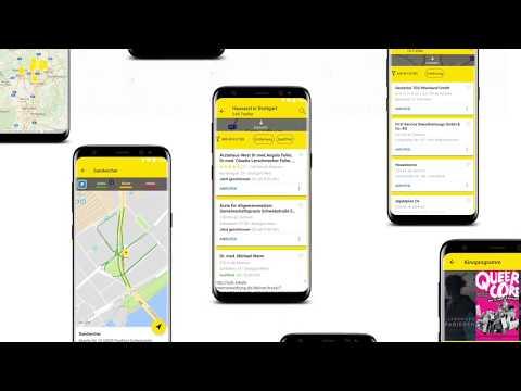 gelbe seiten auskunft und mobiles branchenbuch apps. Black Bedroom Furniture Sets. Home Design Ideas