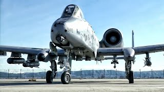 A-10 Warthogs Deploy To Romania • Theater Security Package