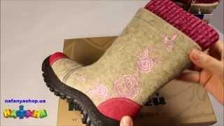 видео Купить детские войлочные тапочки