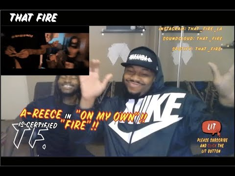 A-Reece - On My Own (Official Music Video) (Thatfire Reaction)