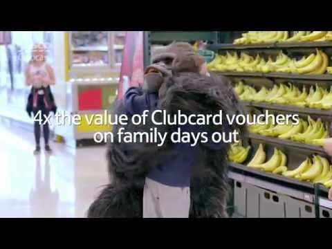 Tesco Clubcard Days Out | Gorrilla