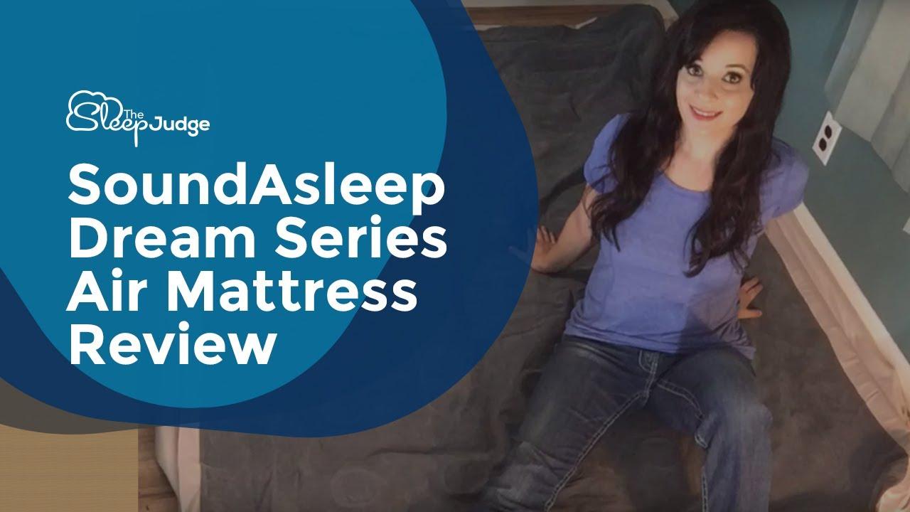 Soundasleep Dream Series Air Mattress Review Youtube
