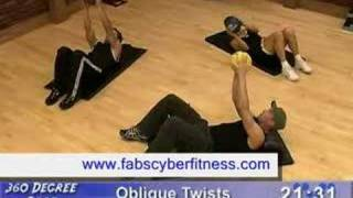 Home ab workout: exercises for six pack abs