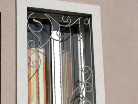 Недорогие решетки на окна для частного дома защитные металл