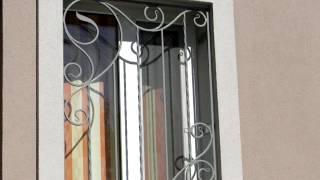 Недорогие решетки на окна для частного дома защитные металл(посмотреть http://kovka-dveri.com . Недорогие решетки на окна для частного дома защитные металл, ковка, вариант дизайн..., 2016-10-12T13:04:50.000Z)