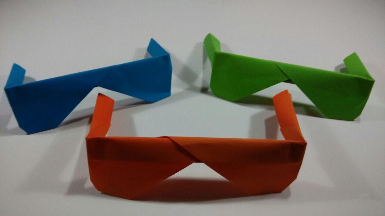 Como hacer una gafas de papel sencillas youtube - Como hacer cadenetas de papel para fiestas ...