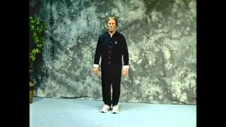 Yang Style Tai Chi Long Form - Gilman's Modification. Front and Back Views