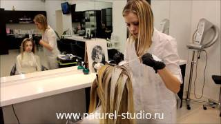 Брондирование волос от Naturel-Studio(http://www.naturel-studio.ru/ Брондирование волос техникой открытого мелирования, которое еще называется калифорнийско..., 2012-01-17T10:46:37.000Z)