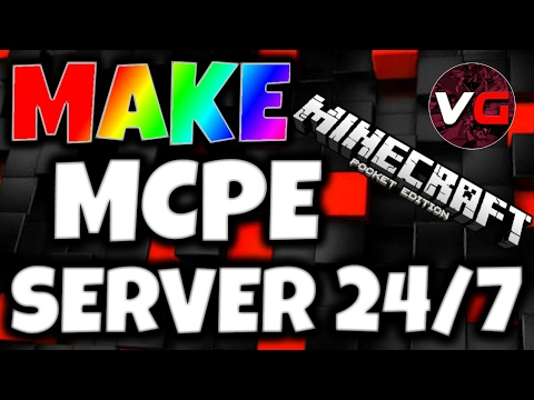 How To Make Minecraft PE Server For Free With YouTube - Minecraft pe server erstellen app